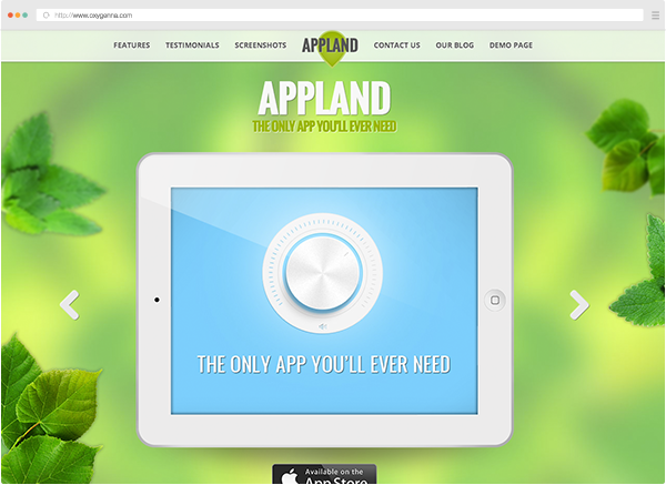 Appland (wordpress theme) <span>$38</span>