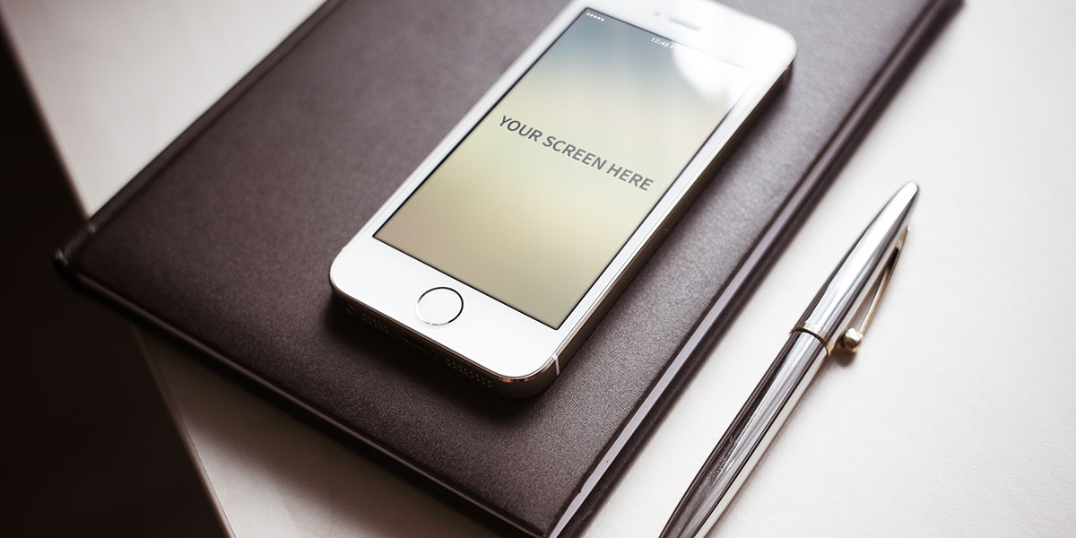 Iphone photorealistic mockups