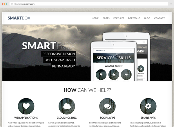 Smartbox (html template) <span>$18</span>
