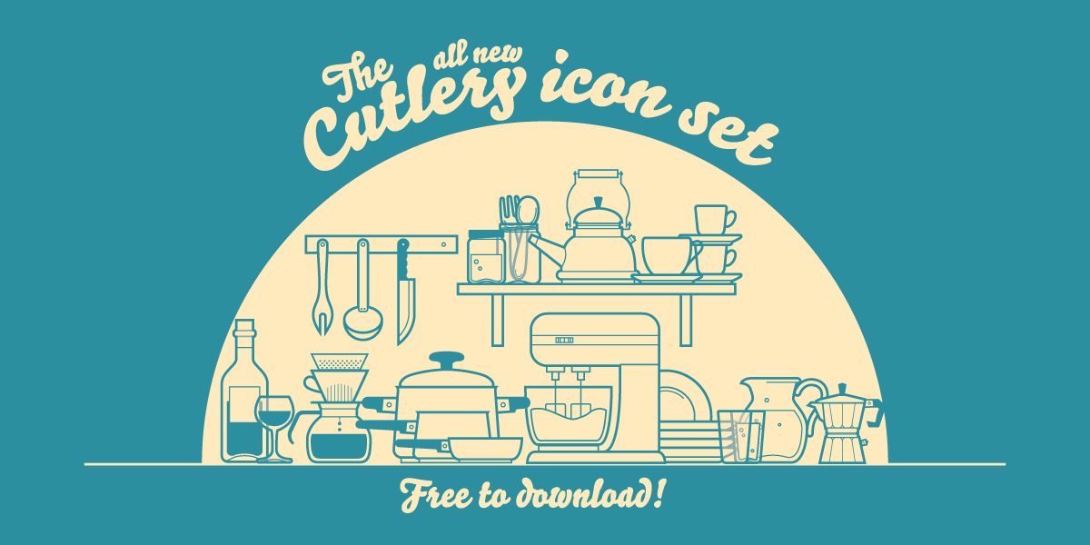 Free Cutlery Icon Set
