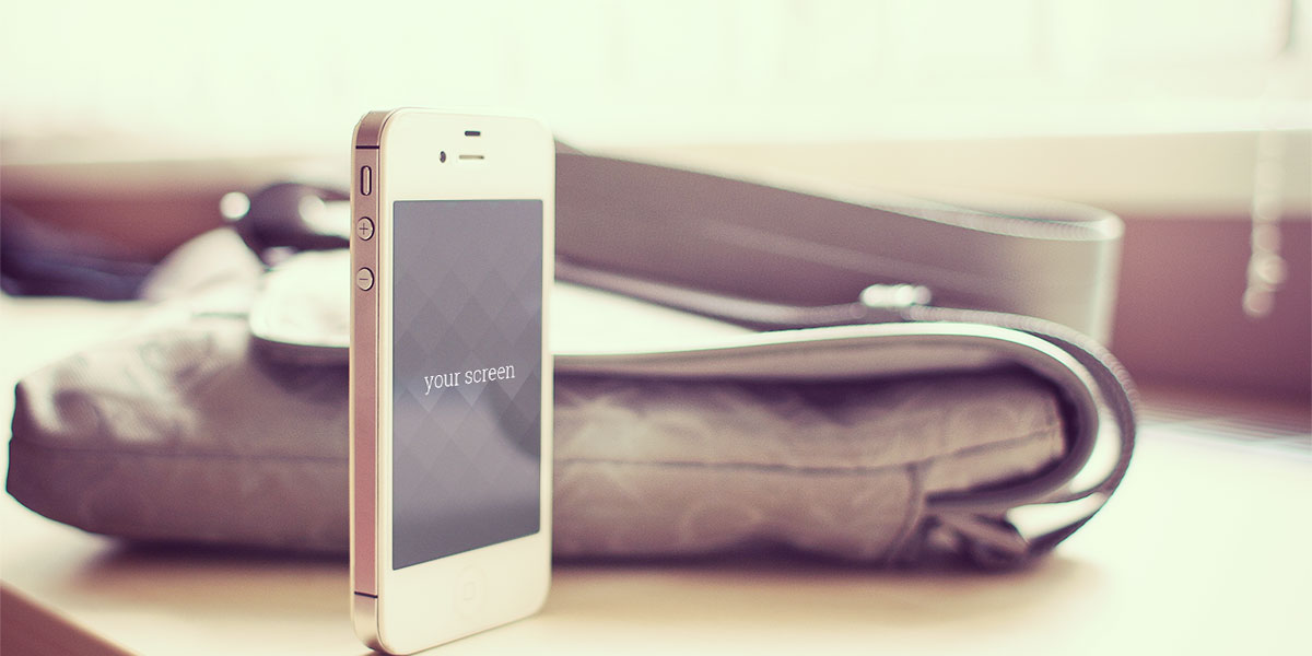 Free Iphone 5 photorealistic mockups, new set!