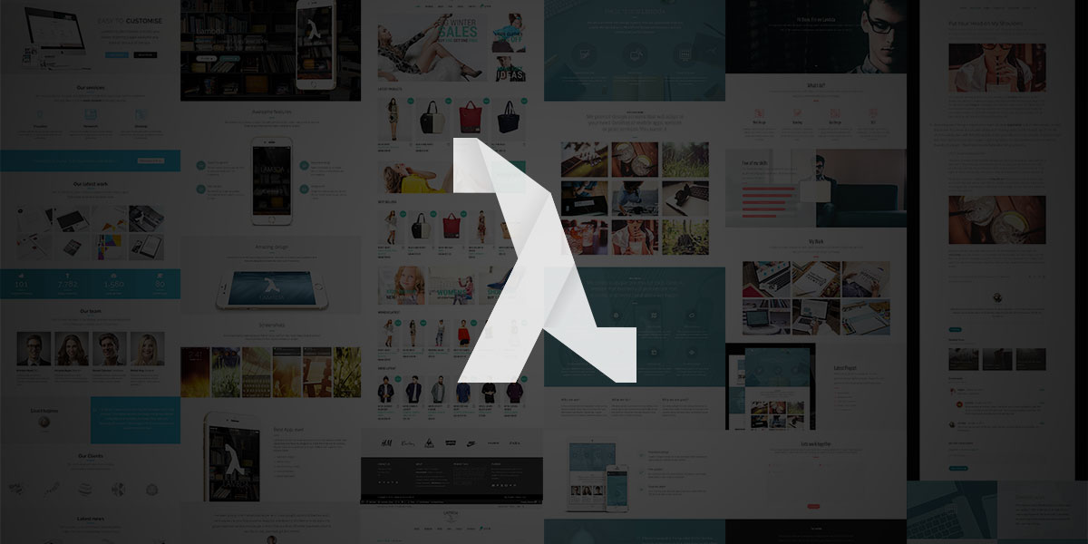 Introducing Lambda, the most powerful WordPress theme