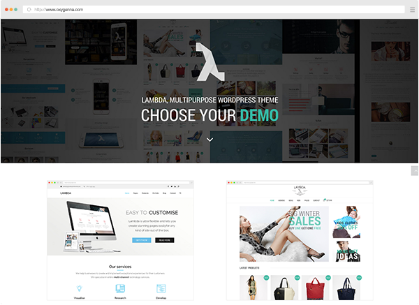 Lambda (wordpress theme) <span>$58</span>