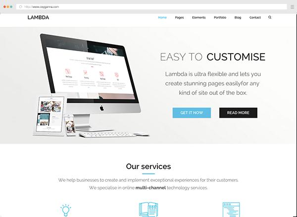 Lambda (HTML template) <span>$19</span>