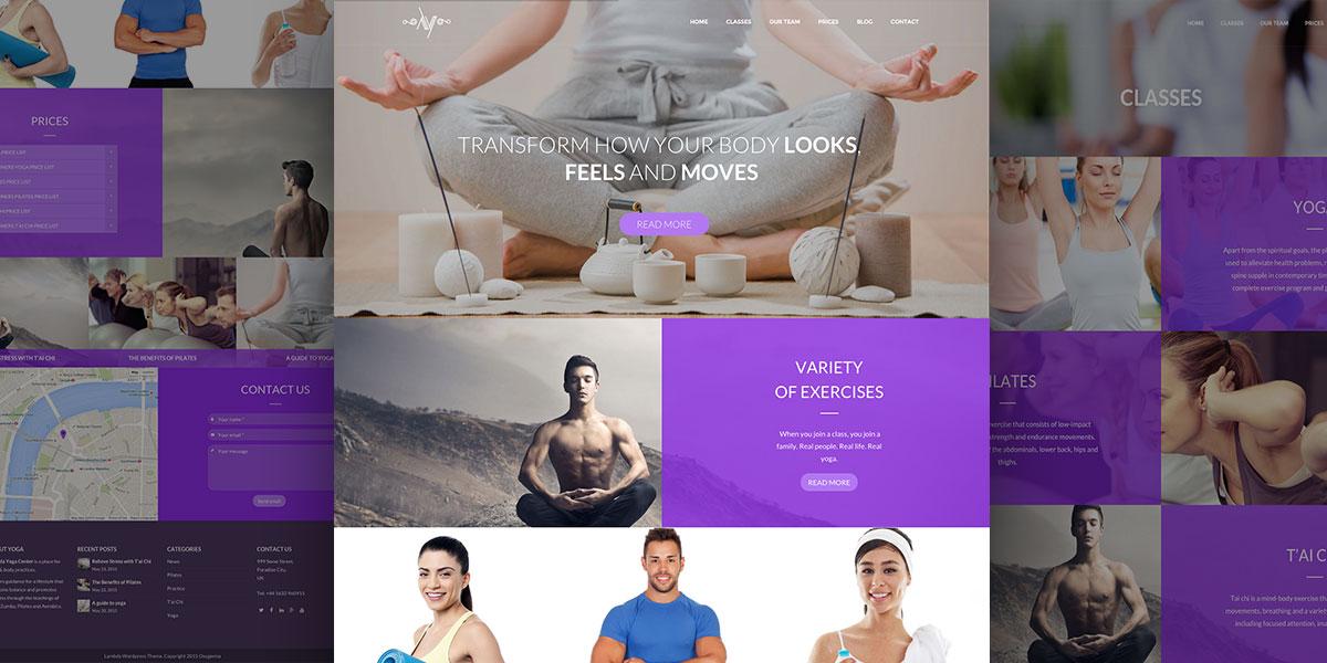 Lambda Yoga Theme