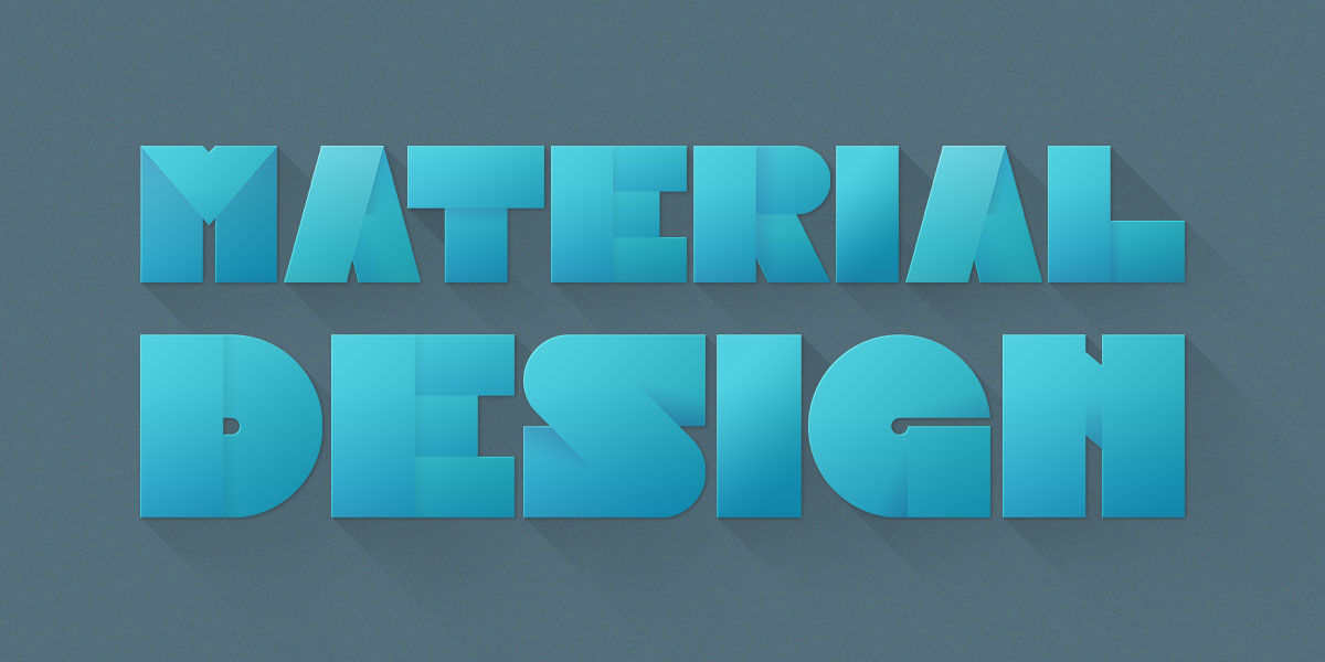 Material Design Image Font