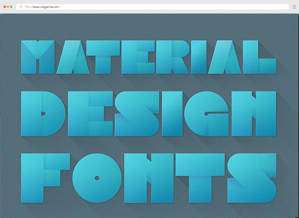 Material Design Image Font <span>$5</span>