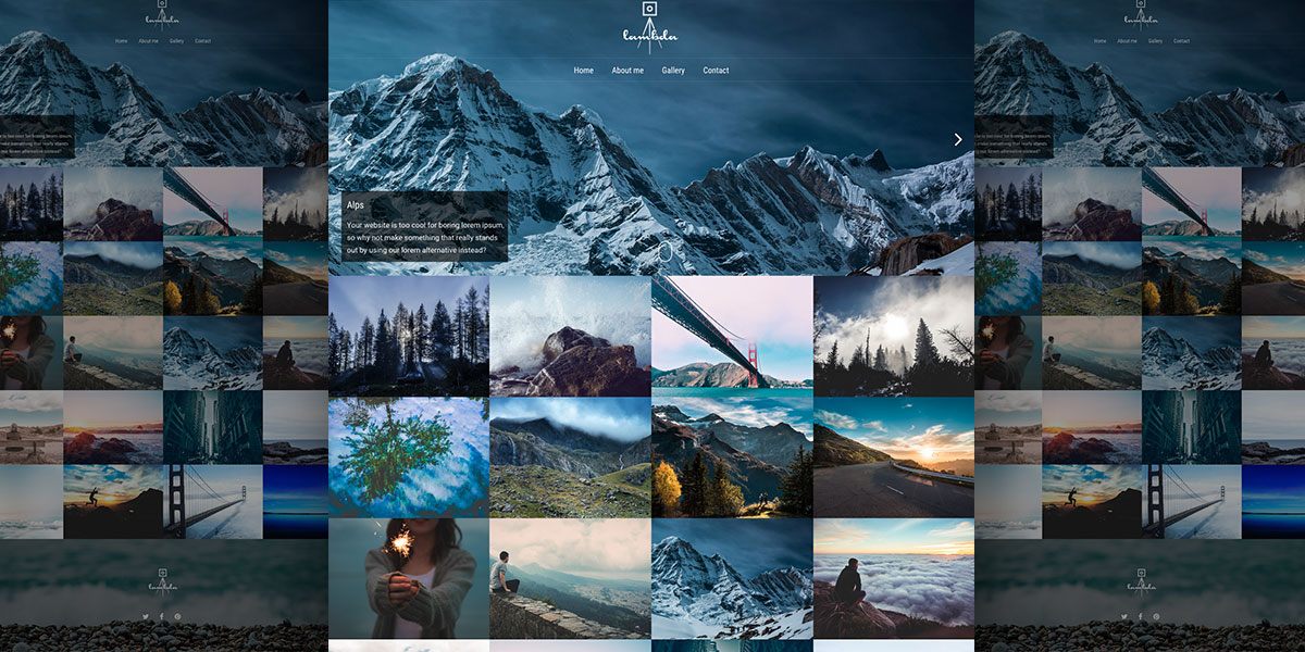 Lambda Photography Theme