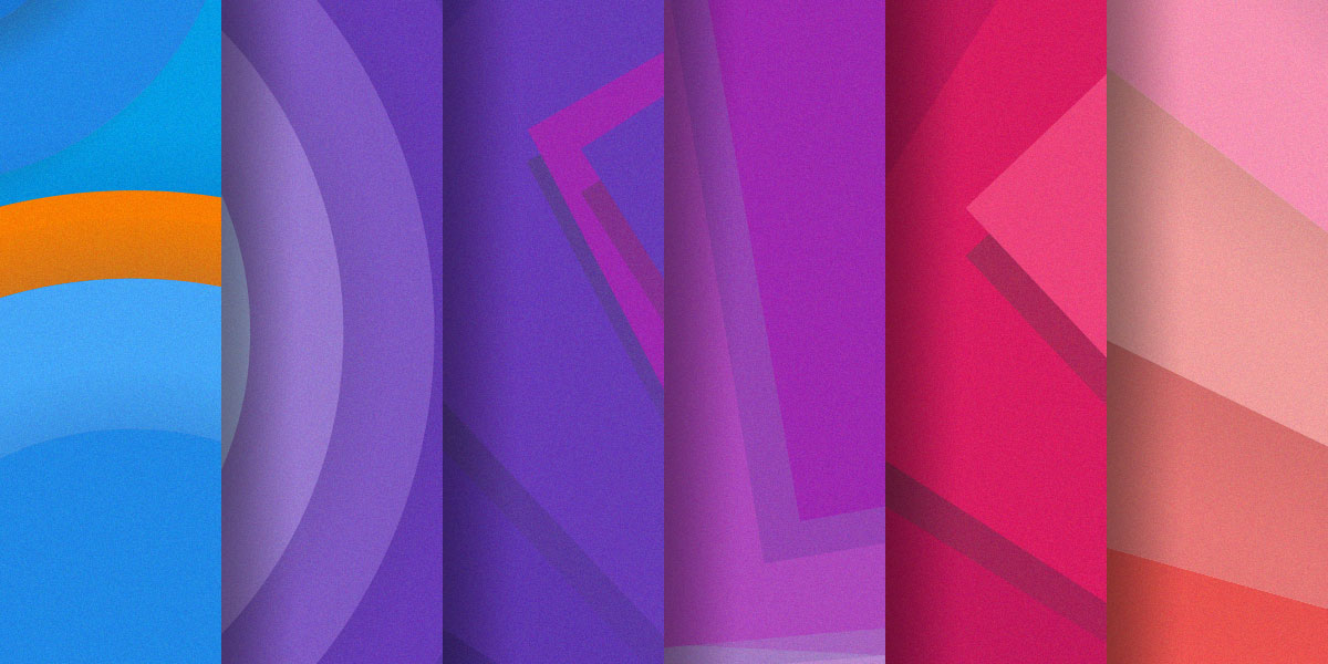 New free set of 30 material design backgrounds