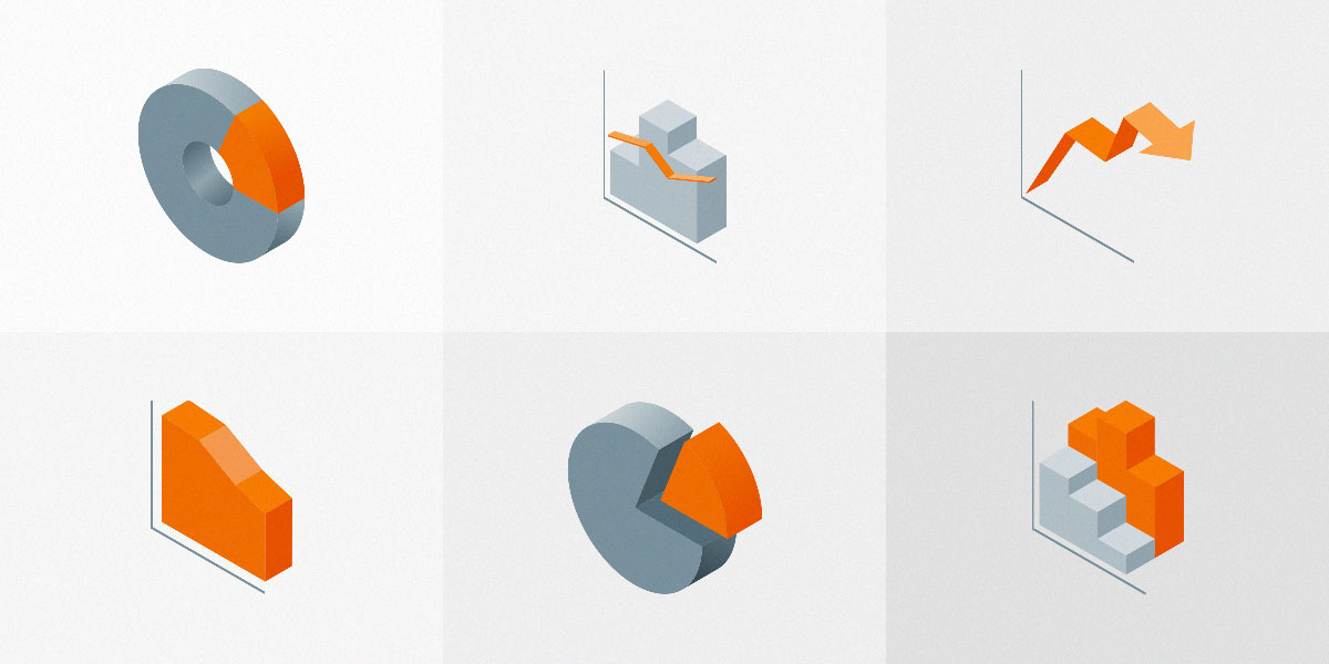 Set Of Free Isometric Material Icons Vol