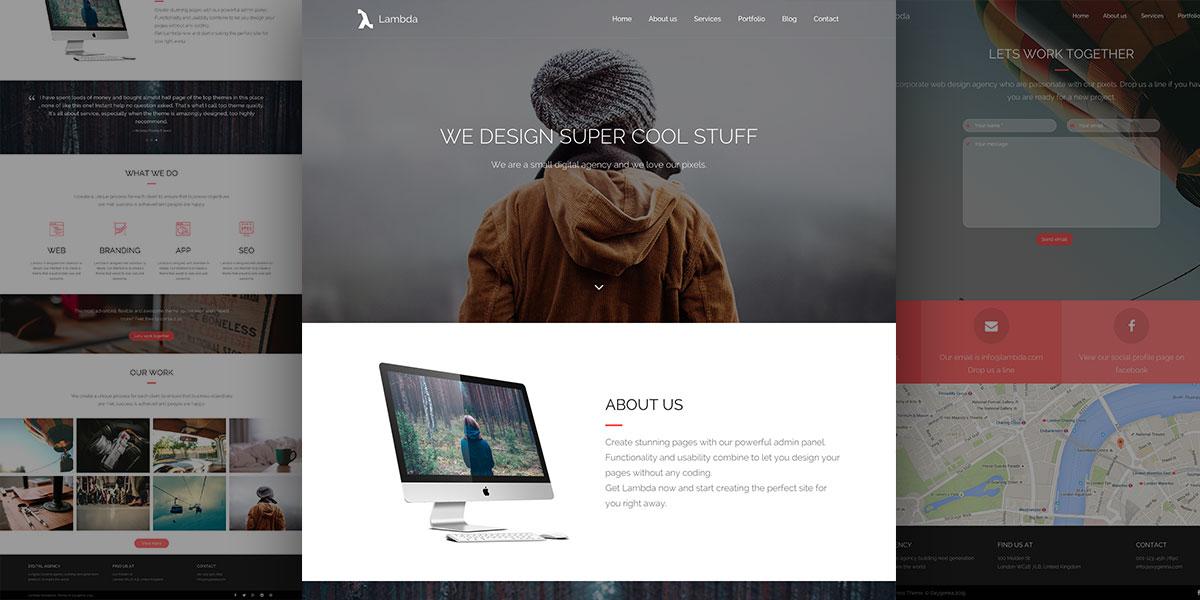 Lambda Digital Agency Theme