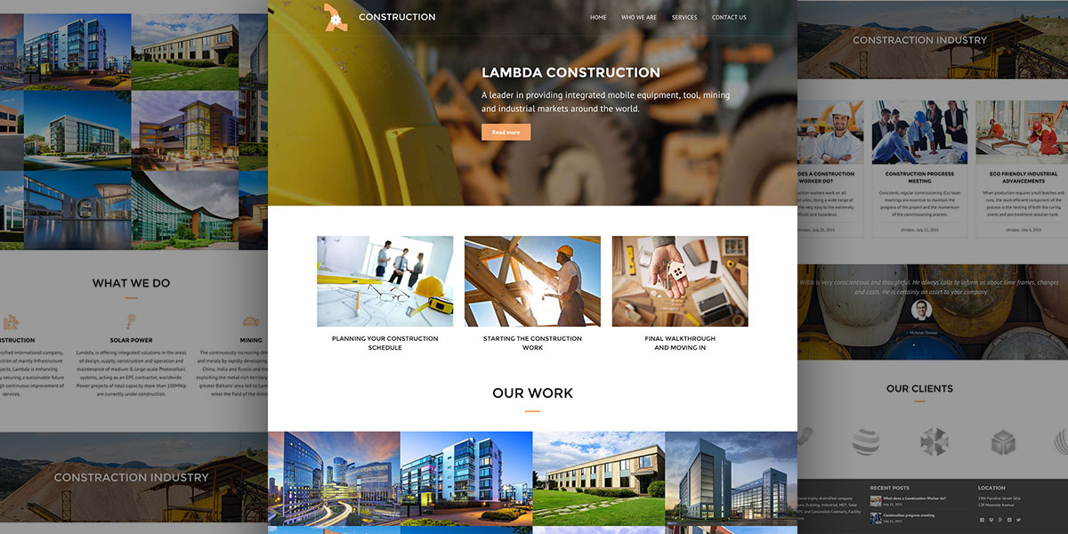 Lambda Construction Theme