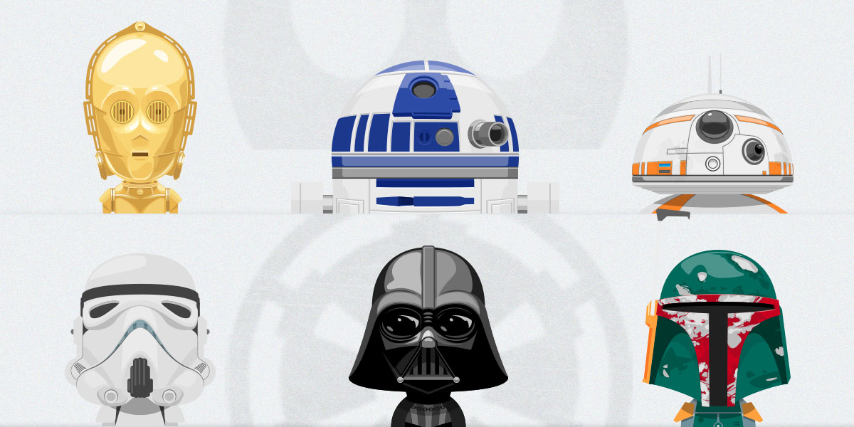 Free Set of Star Wars Avatars