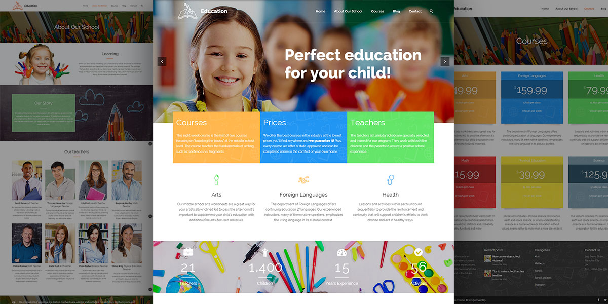 Lambda Education Theme