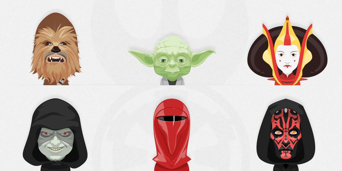 Free Set of Star Wars Avatars Vol. 2