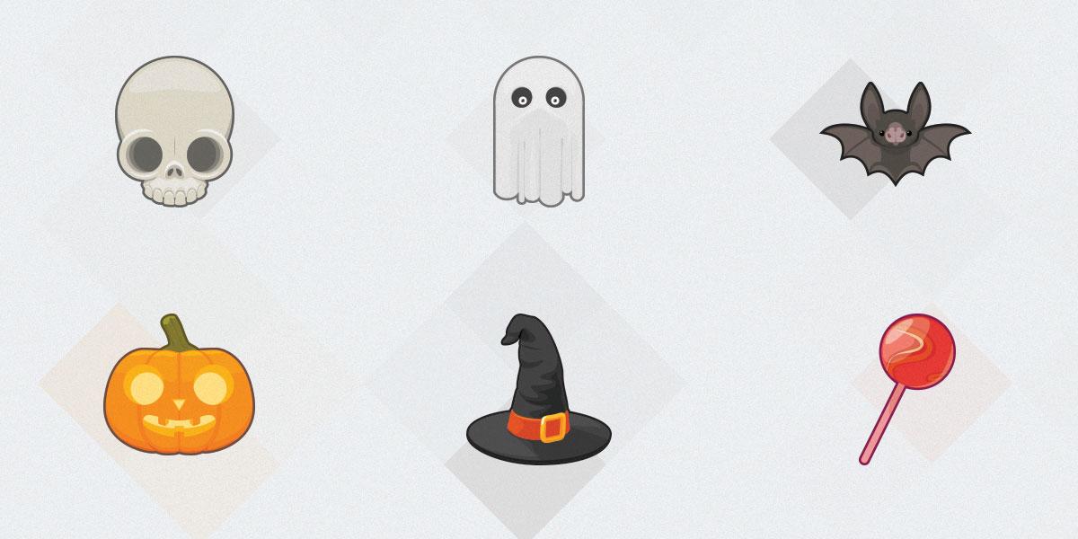 Free Amazing Set Of High Resolution Halloween Icons