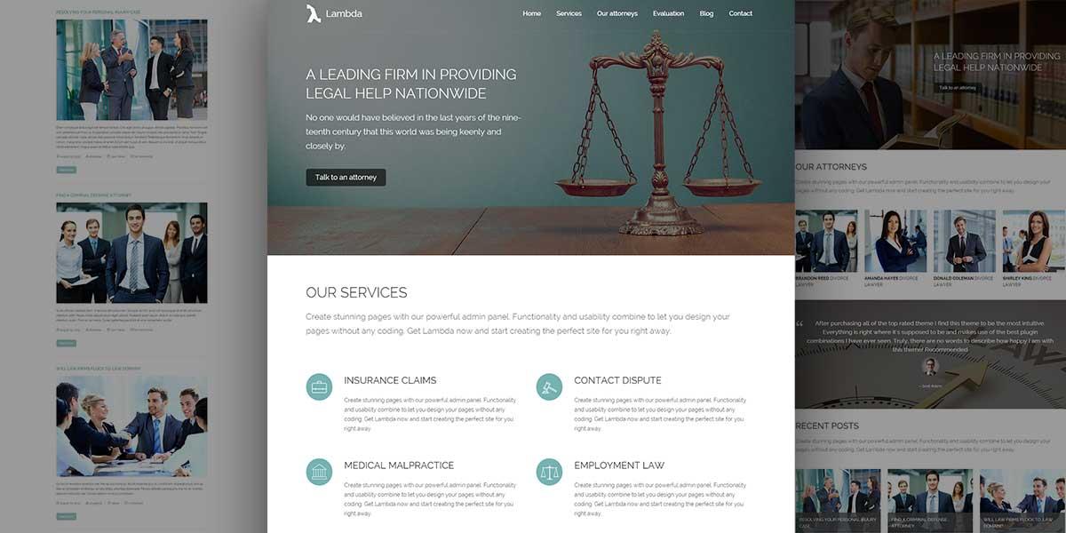 Lambda Law Theme