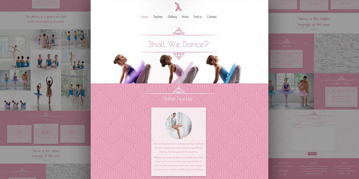 Lambda Dance School Theme