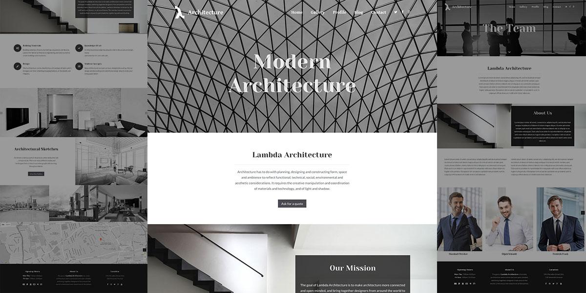 Lambda Architecture Theme