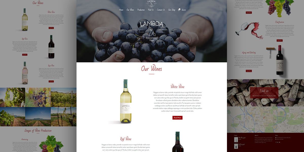 Lambda Winery Theme