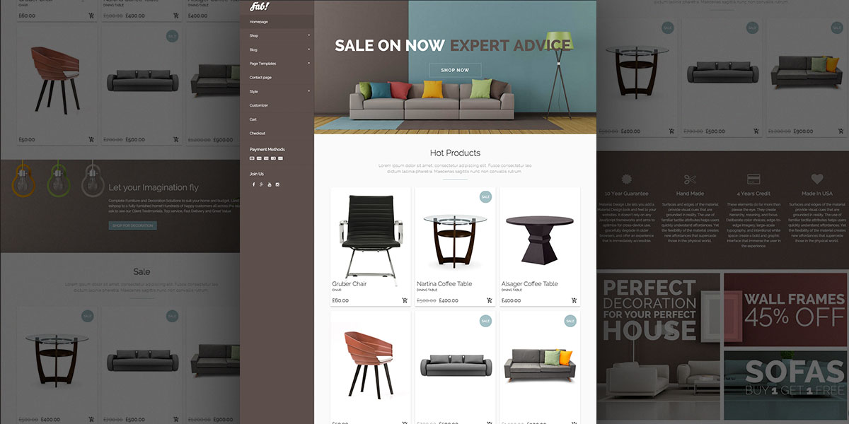 FAB! – Furniture Theme