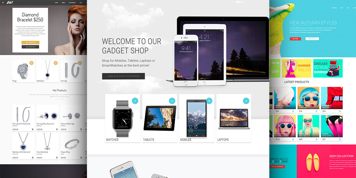 FAB! – Material Design Ecommerce WordPress Theme