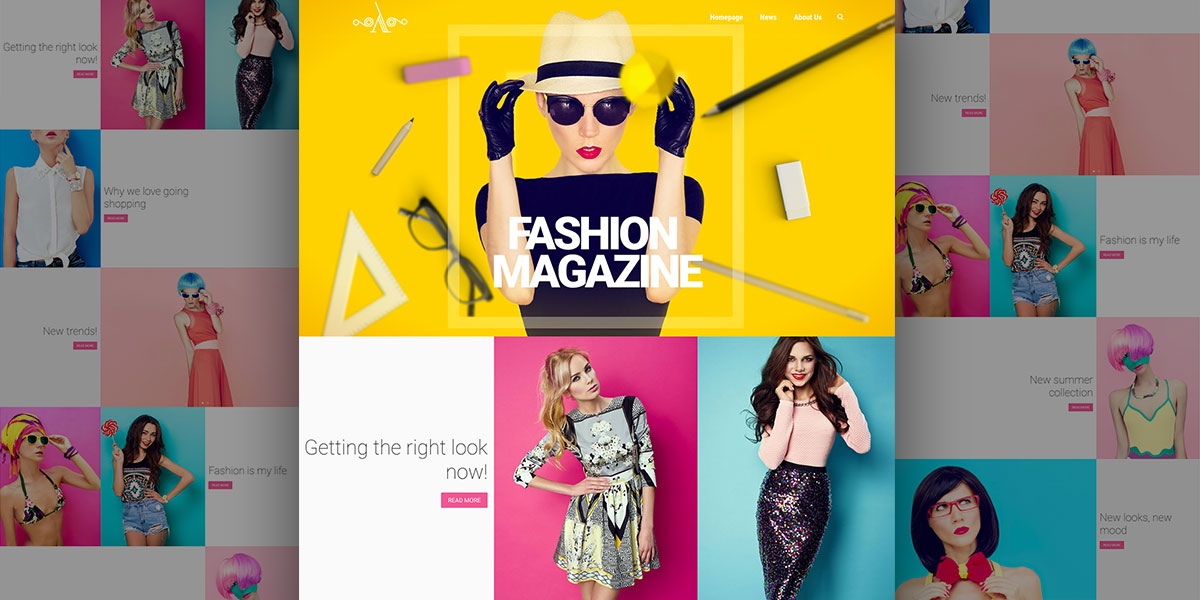 Catch up on the latest fashion trends with our new Fashion Magazine Lambda demo.