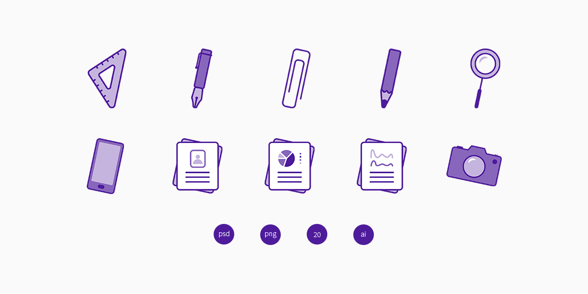 Office Objects Icons