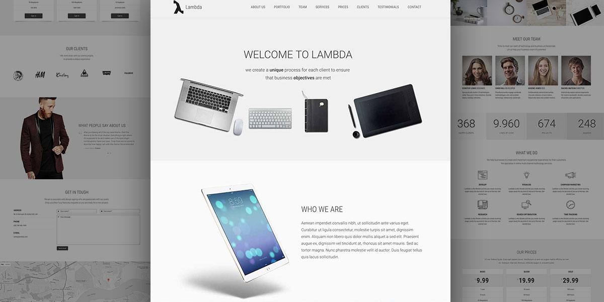 Lambda Start Up Company demo
