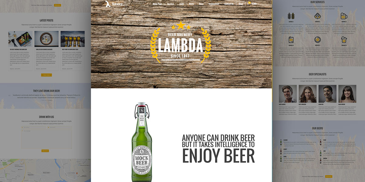 What's more refreshing than a beer? Lambda Brewery e-Shop!