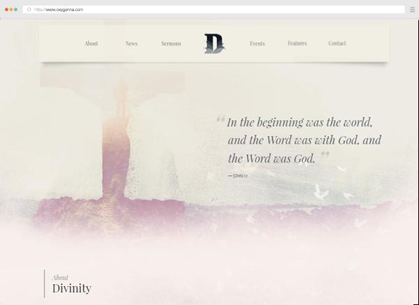 Divinity (wordpress theme) <span>$59</span>
