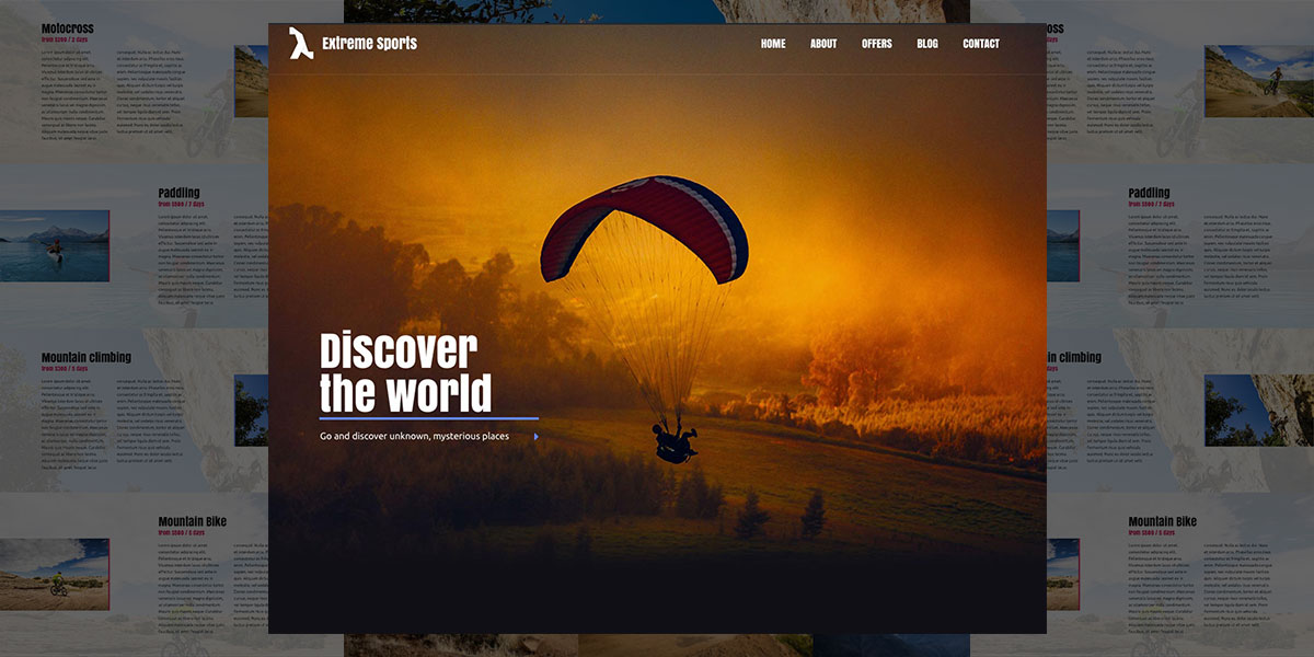 Get adventurous with Lambda Extreme Sports for WordPress!