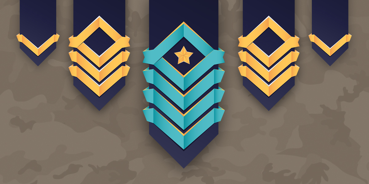 Ranked Insignias