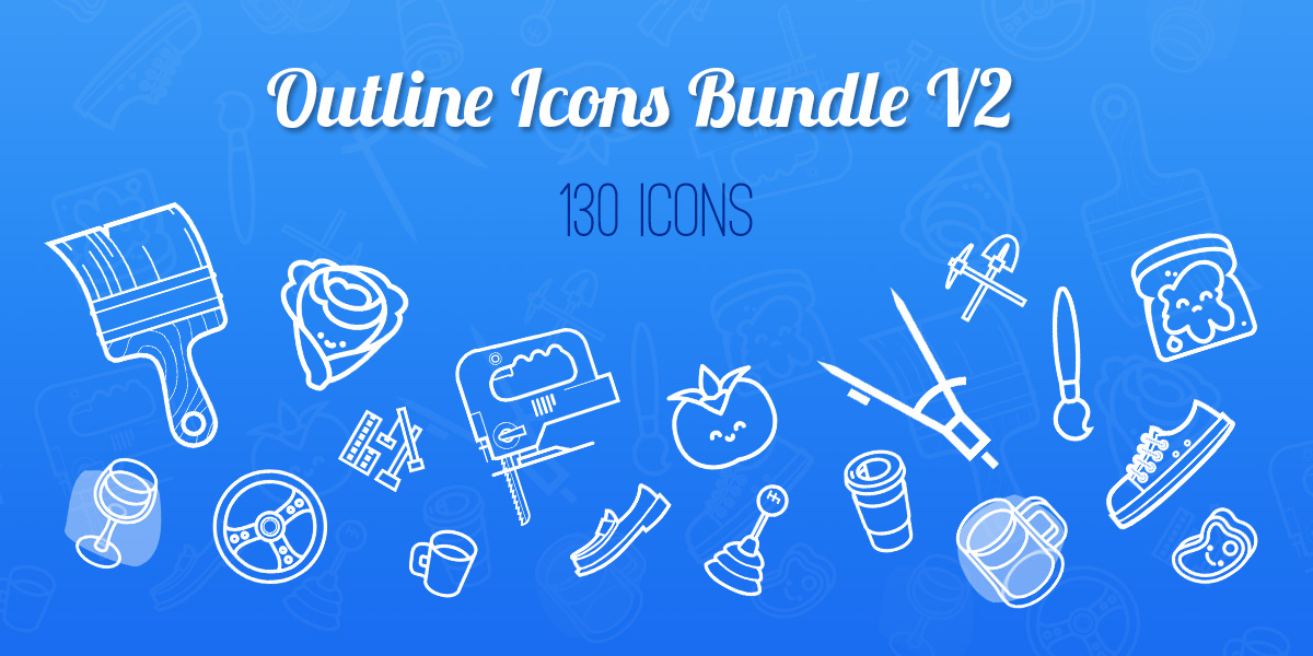 Amazing Freebie – Outline Icons Bundle! ( Part 2)