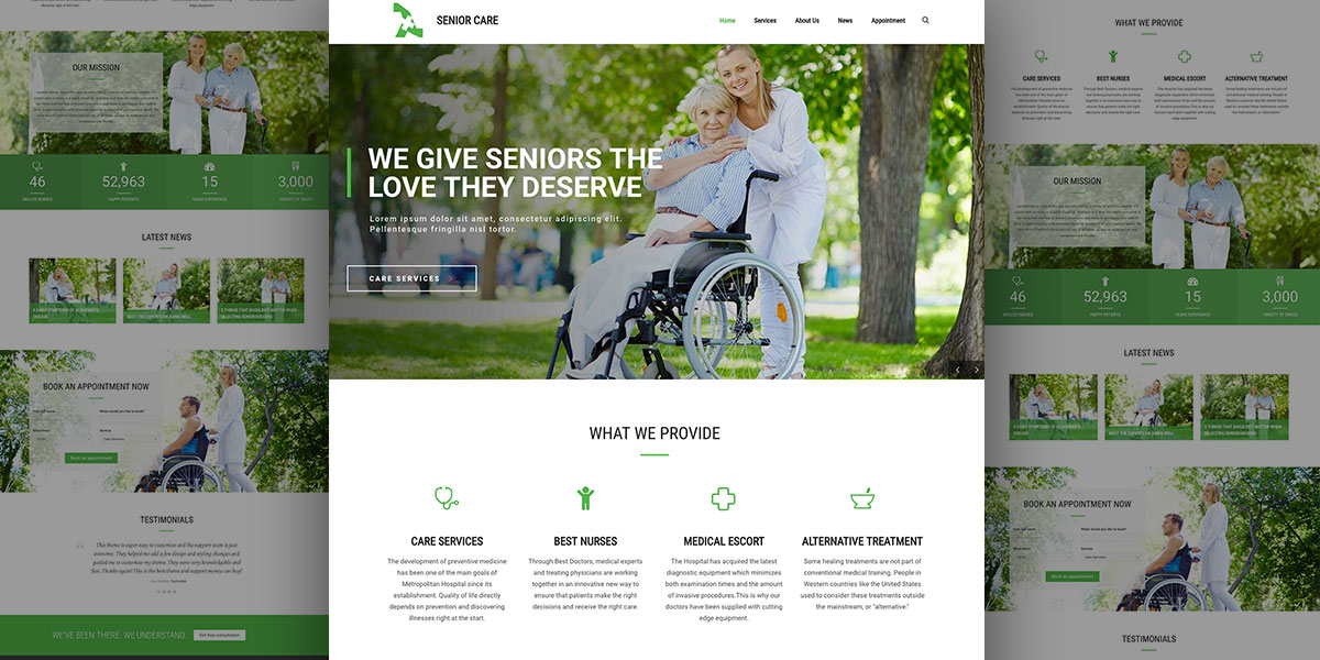 Care for them with Lambda Senior Care Demo