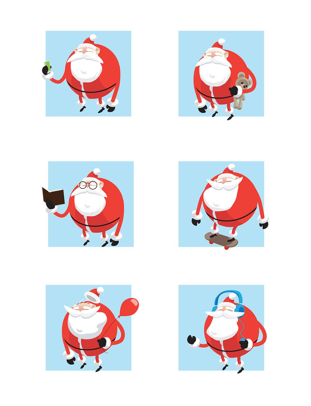 Santa's everyday life