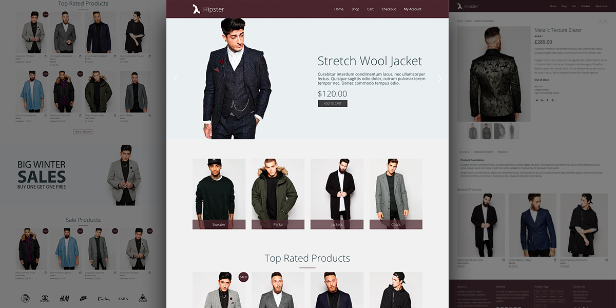 Be the latest trend – Lambda WordPress Hipster e-Shop Demo
