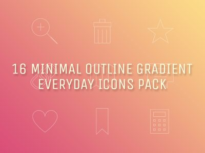 Everyday Icons Pack