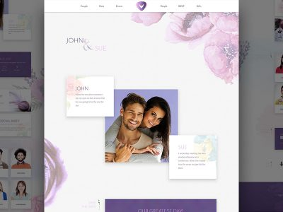 Wedding PSD Template