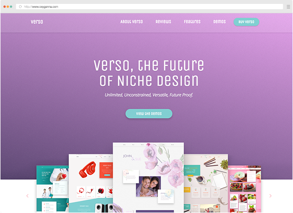 Verso (wordpress theme) <span>$59</span>