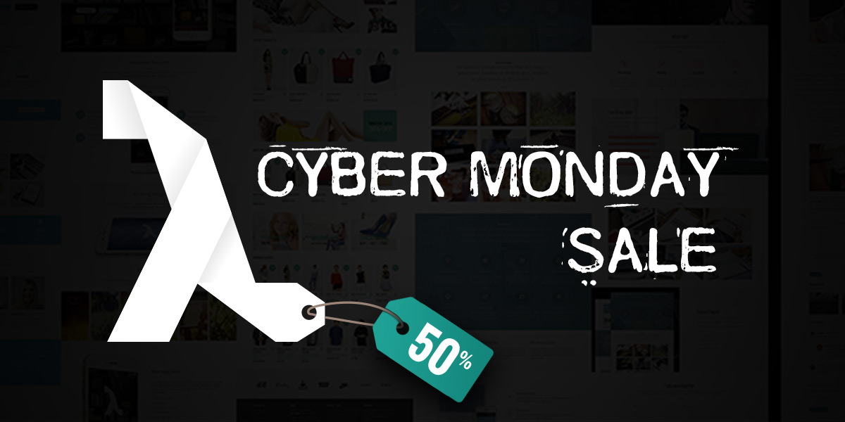 Lambda! Cyber Monday Big Sale, 50% off