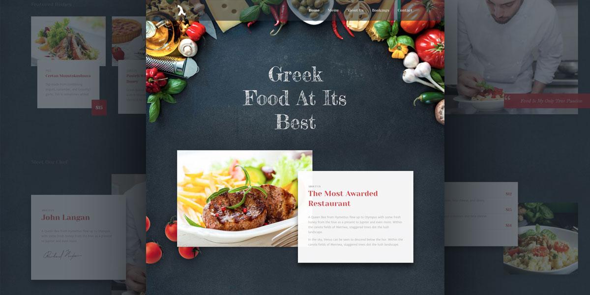 Our newest Lambda Demo is here! Lambda WordPress Modern Restaurant Demo!