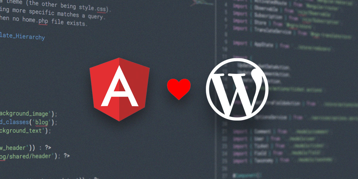 Connecting Angular 6 to WordPress